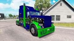 Pele Criança Selvagem no caminhão Peterbilt 389 para American Truck Simulator