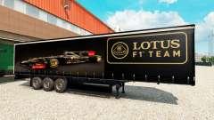 Pele Lotus F1 para semi para Euro Truck Simulator 2