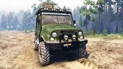 UAZ-469 [híbrido] para Spin Tires