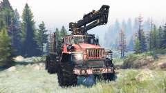 Ural-4320 Explorador Polar v9.0 para Spin Tires