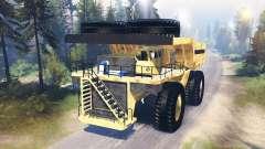 Caminhão de mineração Godzilla v3.0 para Spin Tires
