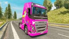 Dee Dee pele para a Volvo caminhões para Euro Truck Simulator 2