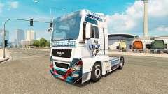 Pele CE Kassel Huskies no trator HOMEM para Euro Truck Simulator 2