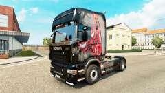 Pele MJBulls no trator Scania para Euro Truck Simulator 2