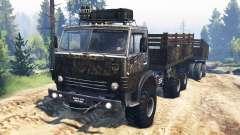 KamAZ-4310 [militar] v3.0 para Spin Tires