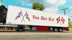 Semi-reboque frigorífico Chereau Van Den D. C para Euro Truck Simulator 2