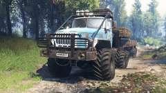 Ural-4320-10 10x10 v3.0 para Spin Tires