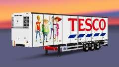 Uma coleção de trailers com diferentes cargas v2.7 para Euro Truck Simulator 2