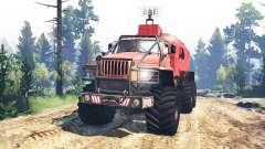 Ural-4320 Explorador Polar v4.0 para Spin Tires