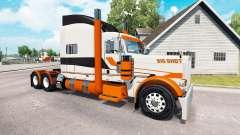 Pele Grande Tiro no caminhão Peterbilt 389 para American Truck Simulator