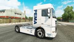 O Pema pele para o caminhão DAF para Euro Truck Simulator 2