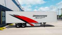 A Bridgestone, a pele do reefer trailer para American Truck Simulator
