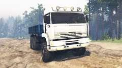 KamAZ-65221 v2.0 para Spin Tires