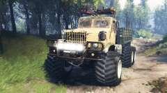 KrAZ-255 [pedaço de ferro] v3.0 para Spin Tires