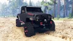 Jeep Wrangler JK8 para Spin Tires