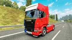 França pele para o Scania truck para Euro Truck Simulator 2