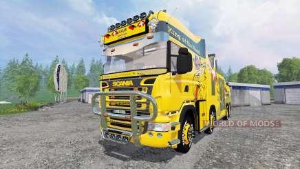 Scania R500 [tow truck] para Farming Simulator 2015
