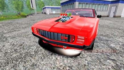 Chevrolet Camaro Z28 1969 para Farming Simulator 2015