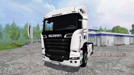 Scania R730 Streamliner v2.0 para Farming Simulator 2015