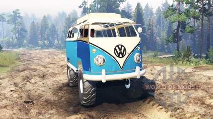 Volkswagen Transporter T1 para Spin Tires