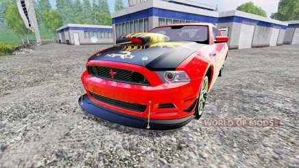 Ford Mustang Boss 302 para Farming Simulator 2015