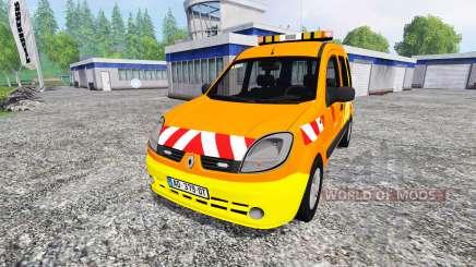 Renault Kangoo [dir sud-ouest] v2.0 para Farming Simulator 2015