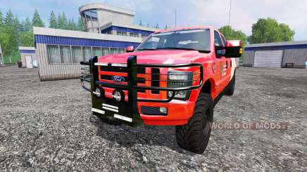 Ford F-350 American Fire Chief para Farming Simulator 2015