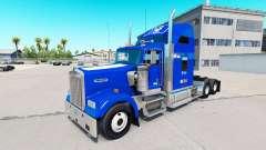 Pele Duque v1.03 no caminhão Kenworth W900 para American Truck Simulator