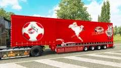Krone cortina semi-reboque de 1. FC Koln para Euro Truck Simulator 2