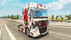 Pele Japao a Copa de 2014 para caminhões DAF para Euro Truck Simulator 2