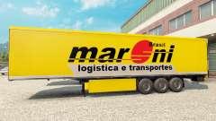 Maroni Transportes pele para reboques para Euro Truck Simulator 2