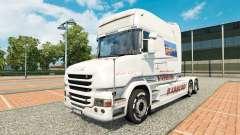 BARBERO pele para a Scania T caminhão para Euro Truck Simulator 2