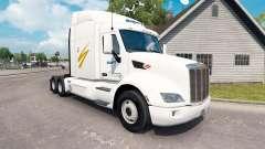 Swift Transporte de pele para o caminhão Peterbilt para American Truck Simulator