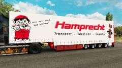 Krone cortina semi-reboque Hamprecht para Euro Truck Simulator 2