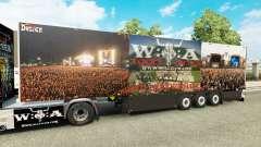 Semi-Reboque Schmitz Cargobull Wacken 25 Anos para Euro Truck Simulator 2