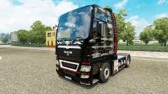 Pele 25 Jahre Wacken para o trator HOMEM para Euro Truck Simulator 2