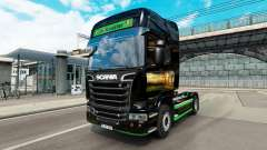 Pele Revada e de Keuster no trator Scania para Euro Truck Simulator 2