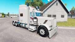 FTI Transporte de pele para o caminhão Peterbilt 389 para American Truck Simulator