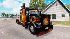 Peles Big Bang no caminhão Peterbilt 389 para American Truck Simulator