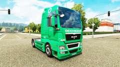 Pele Deichmann para trator HOMEM para Euro Truck Simulator 2