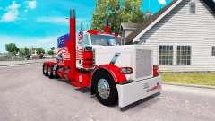 EUA pele para o caminhão Peterbilt 389 para American Truck Simulator