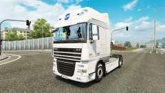 Schmidt Heilbronn pele para caminhões DAF para Euro Truck Simulator 2