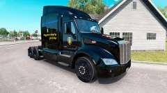 LCPD pele para o caminhão Peterbilt para American Truck Simulator