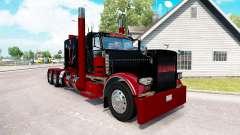 Deadpool pele para o caminhão Peterbilt 389 para American Truck Simulator