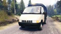 GAZ-3302 Gazela v2.0 para Spin Tires