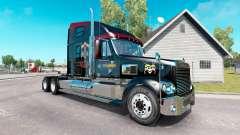 Pele Guns N Roses no caminhão Freightliner Coronado para American Truck Simulator