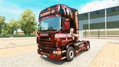 Suporte 81 pele para o Scania truck para Euro Truck Simulator 2