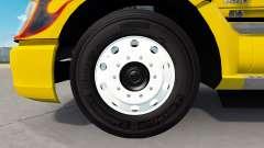 Forjadas de alumínio Alcoa rodas de v1.5 para American Truck Simulator