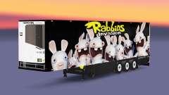Semi-reboque frigorífico Schmitz Rabbids para Euro Truck Simulator 2