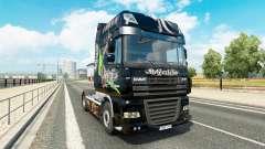 Implacável pele para caminhões DAF para Euro Truck Simulator 2